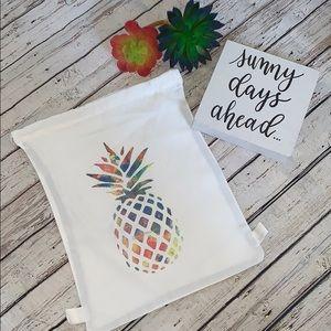 Handbags - 🍍Pineapple 🍍 print canvas backpack